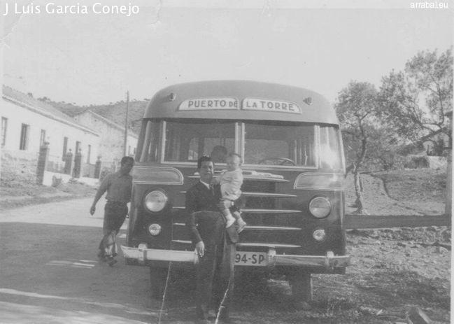 Antiguo autobus Puerto Torre