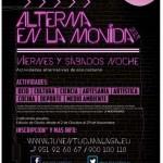 Actividades y talleres gratuitos – Alterna en la Movida Málaga 2013
