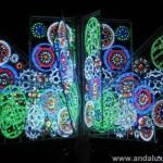 Arbol de Navidad multicoplor en Malaga