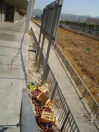 basura en la rosaleda 5 agosto 2008