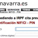 Cita previa para la Renta en Navarra
