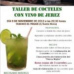 Taller de cocteles con vino de Jerez