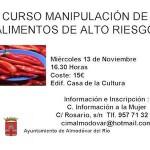 Curso de manipulador de alimentos en Almodóvar del Rio