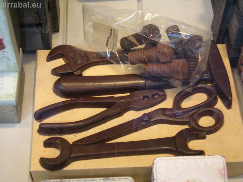Herramientas de chocolate de Bélgica