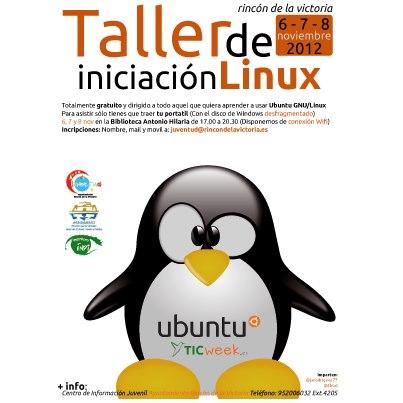Taller gratuito Iniciación Linux