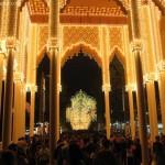 Columpios gratis en la feria del Corpus de Granada