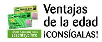 Tarjeta 65 Andalucía