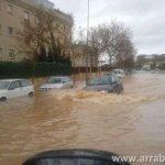 Tormenta en Malaga