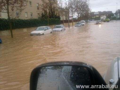 Tormenta en Malaga 7 de Enero de 2010