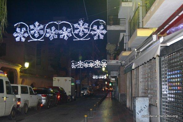 Arbol de navidad Plaza de la Constitucion Malaga