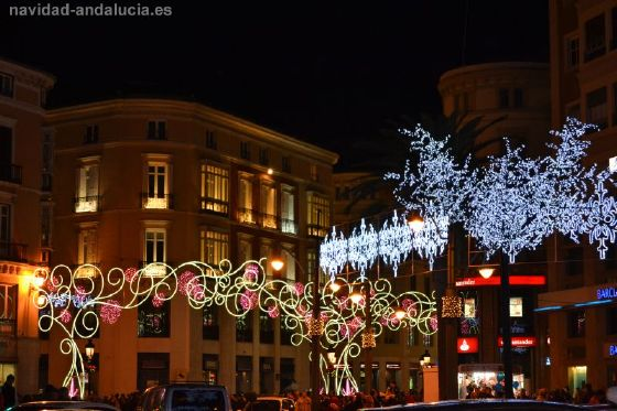 luces de navidad malaga 2011