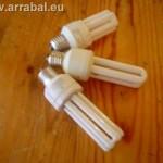 Quitar destellos de las lamparas de bajo consumo