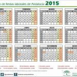 Calendario de fiestas laborales de Andalucía 2015