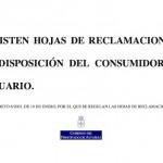 Hojas de reclamaciones de Asturias