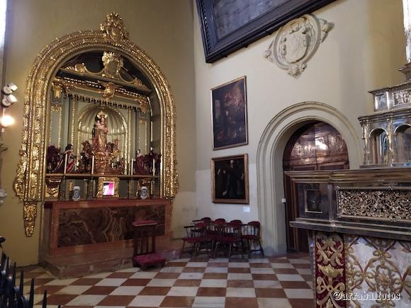 Capilla Virgen de los Reyes de la Catedral de Málaga