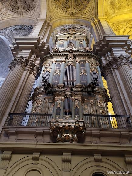 Organo de la Catedral de Málaga
