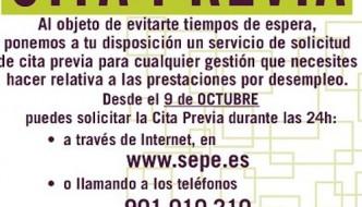 Cita previa SAE El Palo-Málaga