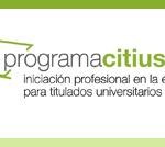Programa Citius – practicas de empresa y formación