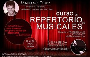 curso especializado en teatro musical