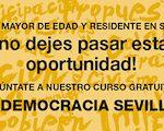 Cursos gratuitos de E-democracia en Sevilla