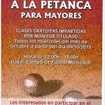 Curso gratis de Petanca en Almogía