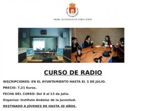Curso de Radio en Cañete La Real