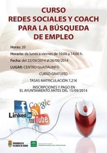 Curso Redes Sociales y Coach para la Búsqueda de Empleo en Villanueva del Rosario