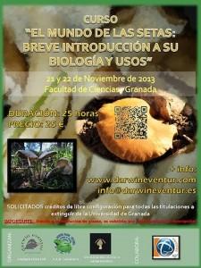 """Curso """"El mundo de las setas: Breve introducción a su biología y usos"""""""