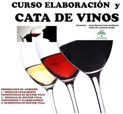 Curso de elaboración y cata de vino en Huetor Vega