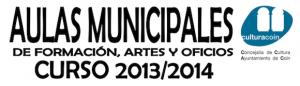 Cursos de Formación, Artes y Oficios del Ayuntamiento de Coín 2013 2014