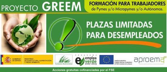 Cursos gratis on line para desempleados de la Asociación Profesional de Empresas Medioambientales APROEMA