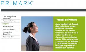 Oferta de empleo en Primark