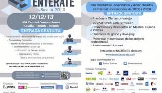 Entérate Sevilla: encuentro de universitarios, recién titulados y emprendedores