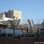 Efectos del tornado en Málaga, fotos de la Estación de Autobuses