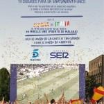 La Eurocopa en pantalla gigante en Málaga