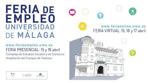 Feria de Empleo de la Universidad de Málaga