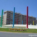 La fuente de los colores de Málaga