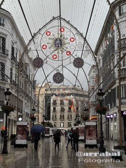 Luces de Navidad en Málaga 2018/2019