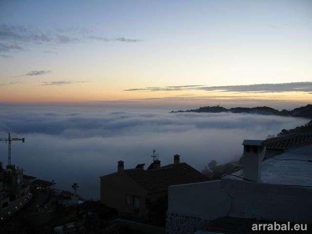 Niebla en Marina del Este, Almuñecar