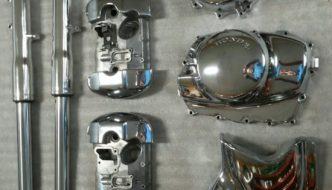 Piezas de Honda pulidas
