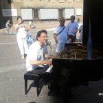 Paolo Zanarella, el pianista de la calle