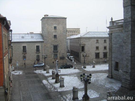 Plaza catedral Avila
