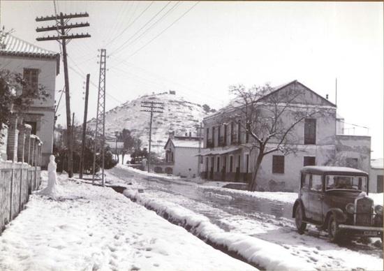 Foto antigua del puerto de la torre nevado - Kaiser puerto de la torre ...
