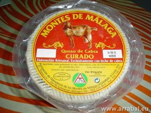 Queso de cabra Montes de Malaga