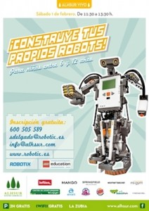 Taller de robots en Granada