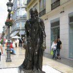 Los Burgueses de Rodin en Málaga
