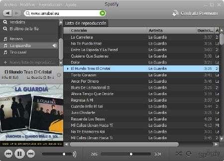 Spotify musica gratis