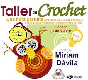 Taller Gratis de Crochet en Málaga