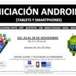 """Taller gratuito de """"Iniciación Android I. Tablets y Smartphones"""" en Oviedo"""