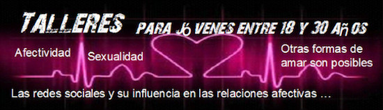 Talleres gratis en Granada sobre afectividad